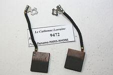 CHARBONS 9472 POUR DYNAMOS PARIS-RHONE...POUR PEUGEOT 201 301 AUTOS ANCIENNES