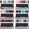 10 Bottles LEMOOC UV Gel Polish Combo Set Gel Nail Varnish Pink Purple 8ml