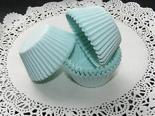 100x Small Light Blue Cupcake Fairycake Muffin Cases 4cm Diameter Base