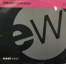 "Kym Sims(12""Vinyl)Take My Advice-UK- B 8591-ATCO-VG/VG"