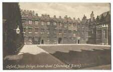 Oxford, Jesus College, Inner Quad PPC Unposted, c 1950's By Frith