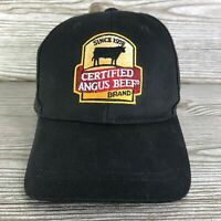 CERTIFIED ANGUS BEEF BRAND AT ITS BEST BLACK ADJUSTABLE BASEBALL HAT CAP