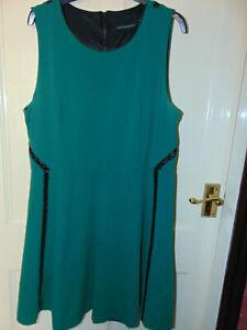 Cynthia Rowley Ladies Dress - Stretchy - XL / 16 - Green