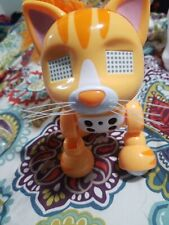 Rare zoomer meowzies orange electronic kitty cat interactive robot spin masters