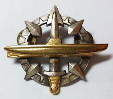 French Navy Senior Submarine qualification badge Drago Paris Submariner