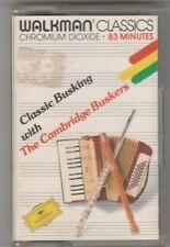THE CAMBRIDGE BUSKERS Cassette Album - CLASSIC BUSKING