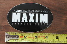 New England Climbing Ropes Sticker Decal New Maxim Dynamic