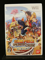 One Piece Unlimited Cruise Episode 1 - Nintendo Wii - 2008 - Japan Import