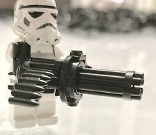 M134 Minigun Gatling gun machine gun compatible with Lego minifigures (UK stock)