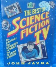 The Best Of Science Fiction Tv Book 1987 Star Trek Battlestar Galactica Robotech