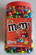 M&M's 55 oz Jar PEANUT BUTTER Chocolate Candies M & Ms MM MARS