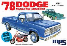 MPC 1/25 1978 Dodge D100 Custom Pickup 2T MPC901M