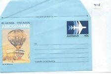 AUSTRALIA - AEROGRAMMES - UNUSED - ILLUSTRATED - 475 - 40c  - HOT AIR BALLOONING