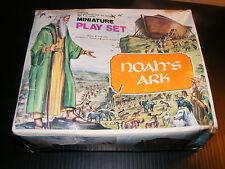 RARE Noah's Ark Miniature Play Set