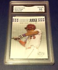 $120 Aaron Judge Rookie Card GEM MINT 10 Yankees Draft Leaf Baseball 2013 New 13