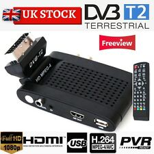 TEKNIKAL HD Scart Freeview Receiver & Recorder Set Top Box 4 Digital TV Channels