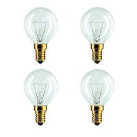 4 X Bosch Neff Siemens Hotpoint AEG 40W 240V SES E14 Oven Cooker Bulb Lamp 300°