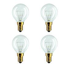 4 X Eveready 40W 240V SES E14 Oven Cooker Bulb Lamp 300°