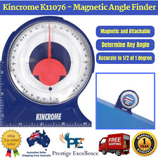 New Kincrome K11076 - Magnetic Angle Finder Protractor Magnetic Any Angle Attach