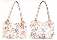 NEW LADIES S QUALITY HANDBAG LIGHT WEIGHT WEEKEND BAG SHOULDER BAG CANVAS BEACH