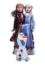 Folienballon, Frozen, Olaf, Elsa Anna Anagram Airwalker, Markenware! Lebensgroß!