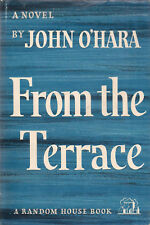 """2 by JOHN O'HARA """"From the Terrace"""" (1958) & """"Ourselves to Know"""" (1960) HC/DJ"""