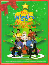 """""""THE WIGGLES CHRISTMAS SONG & ACTIVITY BOOK"""" MELODY/LYRICS/CHORDS MUSIC BOOK-NEW"""