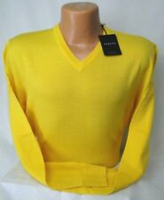 Dunning Golf V-Neck Sweater in 100% Merino Wool MSRP $125 PGA Tour NWT - in Med