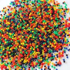 2000pcs Water Balls Crystal Pearls Jelly Gel Bead for Orbeez Toy Refill Color Wn