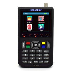 "V9 Digital Satellite Finder 3.5 "" LCD Digital Display Satellite Television D3Z5"