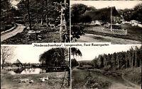 F. Rosengarten b. Langenrehm AK Gasthaus Niedersachsenhaus alte Postkarte ~1960