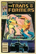 Marvel Comics The Transformers #24 1987 Game Over Optimus Prime!!