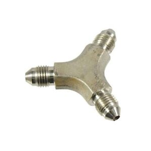 Autobahn88 AN-3 Y Tee Type Male Stainless Steel Brake Hose Fittings 3/8-24 UNF
