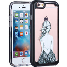 Full Body Protective 360° Shockproof Case Hard Slim Cover iPhone X 6 6s 7 8 Plus for iPhone 6 Black #2