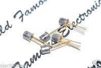 1PCS - GT 2N3011 Gold-Pin TRANSISTOR - Genuine NOS