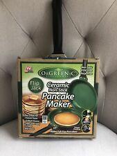 New listing OrGreenic Kitchenware Ceramic Non-Stick Pancake Maker Flip Jack As Seen on Tv