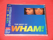 WHAM ! THE BEST OF WHAM !   GEORGE MICHAEL    JAPAN CD