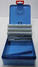 Spiralbohrer Leerkassette 1,0-5,9 x 0,1mm 50-tlg Box Leer Metallkassette Magazin