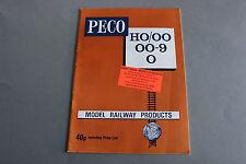 X374 PECO Train catalogueO OO Ho OO9 1977 36 pg 29,2*21 Angl model Railway prod