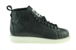 Adidas Superstar Boot AQ1213 Damen Schuhe Boots Winterschuhe Schwarz