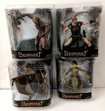 BEOWULF SET OF 4 ACTION FIGURES MCFARLANE TOYS SPAWN DRAGON