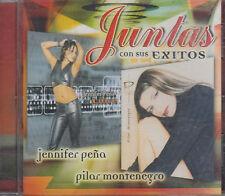 Jennifer Pena y Pilar Montenegro Juntas Con Sus Exitos New Nuevo Sealed