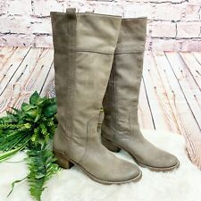 Halogen Rugged Leather Knee High Boots Womens Size 9