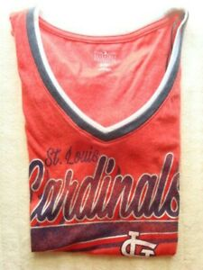 ST LOUIS CARDINALS WOMENS  T SHIRT  LARGE     ~NEW W/TAGS~