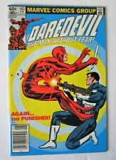 "Comics Marvel ""DAREDEVIL"" # 183  ( combat Punisher)   en V.O"