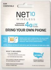 NeT 10 Wireless Dual Sim Card Gsm Compatible - Bring Your Own Phone (Il/Pl2-.