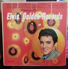 Elvis Presley Elvis' Golden Records LP 1960s pressing Hound Dog