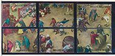 Belgium** BREUGHEL painting –MEDIEVAL CHILDREN GAMES-6 stamps-1967-MNH-ART