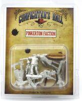 Knuckleduster KDM11107 Pinkerton Faction (Gunfighter's Ball) Old West Lawmen NIB