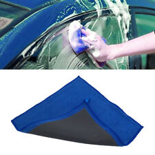 Blue Nano Towel Cloth Car Wash Paint Care Cleaning Detailing Polishing 32x30cm